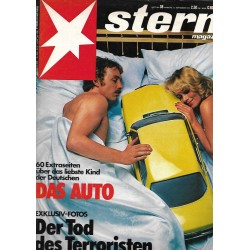 stern Heft Nr.38 / 14 September 1978 - Das Auto