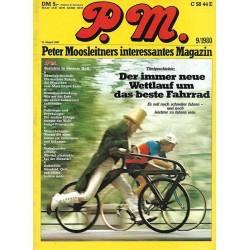 P.M. Ausgabe September 9/1980 - Das beste Fahrrad
