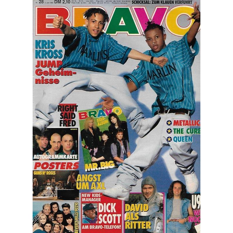 BRAVO Nr.28 / 2 Juli 1992 - Kris Kross