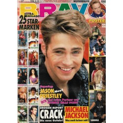 BRAVO Nr.27 / 25 Juni 1992 - Supertyp Jason Priestley