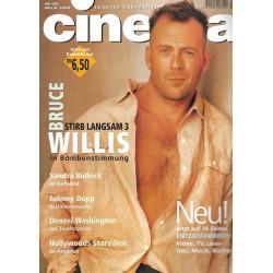 CINEMA 7/95 Juli 1995 - Bruce Willis: Stirb Langsam 3