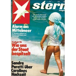 stern Heft Nr.28 / 6 Juli 1978 - Freiheit 78
