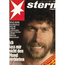stern Heft Nr.18 / 27 April 1978 - Paul Breitner