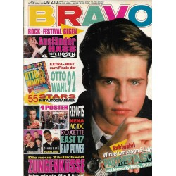 BRAVO Nr.49/ 26 November 1992 - Wirbel um Jason & Luke