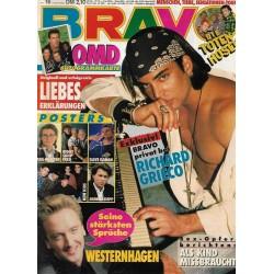 BRAVO Nr.16 / 9 April 1992 - Richard Grieco exklusiv
