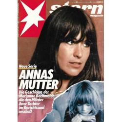 stern Heft Nr.33 / 12 August 1982 - Annas Mutter