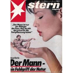 stern Heft Nr.18 / 29 April 1982 - Der Mann, ein Fehlgriff der Natur