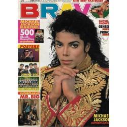 BRAVO Nr.25 / 11 Juni 1992 - Michael Jackson Superplakat