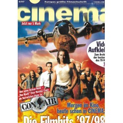 CINEMA 6/97 Juni 1997 - Nicolas Cage in Con Air
