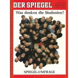 Der Spiegel Nr.26 / 19 Juni 1967 - Was denken die Studenten?