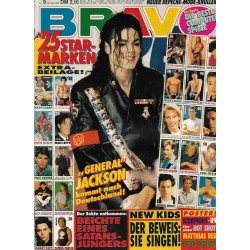 BRAVO Nr.9 / 20 Februar 1992 - General Jackson kommt