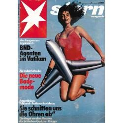 stern Heft Nr.28 / 8 Juli 1982 - Die neue Bademode