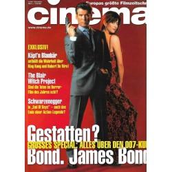 CINEMA 12/99 Dezember 1999 - Gestatten? Bond. James Bond
