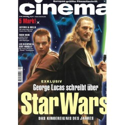 CINEMA 4/99 April 1999 - Star Wars