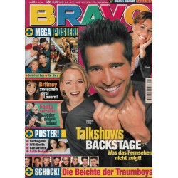 BRAVO Nr.28 / 8 Juli 1999 - Talkshows Backstage