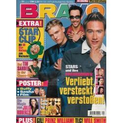 BRAVO Nr.29 / 15 Juli 1999 - Stars und ihre Freundinnen