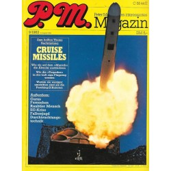 P.M. Ausgabe Septebmer 9/1983 - Cruise Missiles