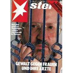 stern Heft Nr.20 / 11 Mai 1989 - Gewalt gegen Frauen
