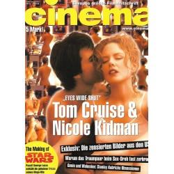 CINEMA 9/99 September 1999 - Eyes wide Shut