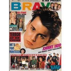BRAVO Nr.14 / 27 März 1991 - Johnny Depp
