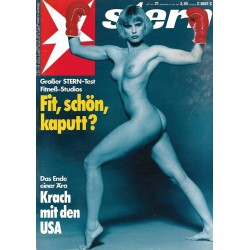 stern Heft Nr.21 / 18 Mai 1989 - Fit, schön, kaputt?