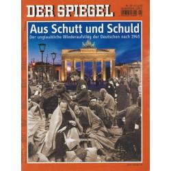 Der Spiegel Nr.20 / 17 Mai 2010 - Aus Schutt und Schuld