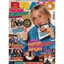 BRAVO Nr.1 / 31 Dezember 1997 - Aaron mit Schwester Angel