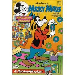 Micky Maus Nr. 10 / 28 Februar 1991 - Meinungssticker