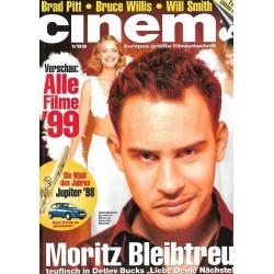 CINEMA 1/99 Januar 1999 - Moritz Bleibtreu