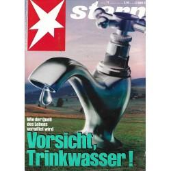 stern Heft Nr.11 / 9 März 1989 - Vorsicht Trinkwasser