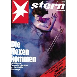 stern Heft Nr.38 / 11 September 1986 - Die Hexen kommen