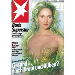stern Heft Nr.29 / 10 Juli 1986 - Grüne Medizin