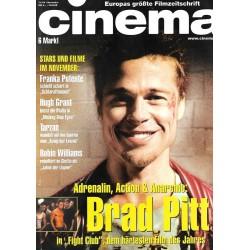 CINEMA 11/99 November 1999 - Brad Pitt