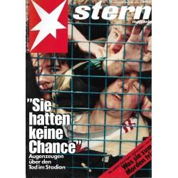 stern Heft Nr.17 / 20 April 1989 - Sie hatten keine Chance