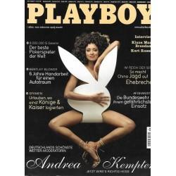 Playboy Nr.8 / August 2006 - Andrea Kempter