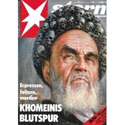 stern Heft Nr.10 / 2 März 1989 - Khomeinis Blutspur