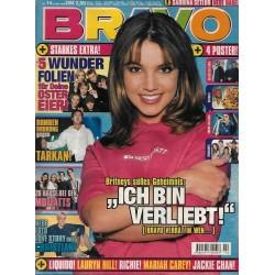 BRAVO Nr.14 / 31 März 1999 - Britney: ich bin verliebt!