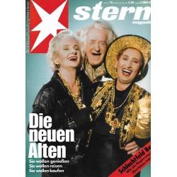 stern Heft Nr.13 / 22 März 1989 - Die neuen Alten