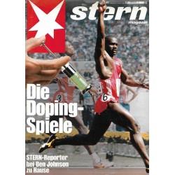 stern Heft Nr.41 / 6 Oktober 1988 - Die Doping Spiele
