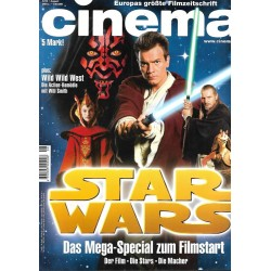 CINEMA 8/99 August 1999 - Star Wars