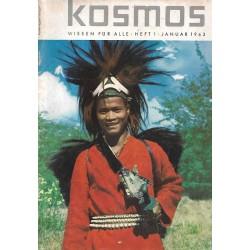 KOSMOS Heft 1 Januar 1963 - Abor Mann aus Siang