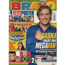 BRAVO Nr.39 / 20 September 2000 - Sasha sucht den Megafan