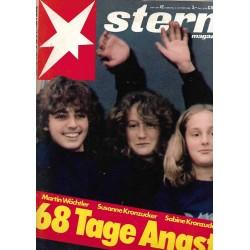 stern Heft Nr.42 / 9 Oktober 1980 - 68 Tage Angst