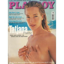 Playboy Nr.9 / September 1999 - Tatjana Patitz