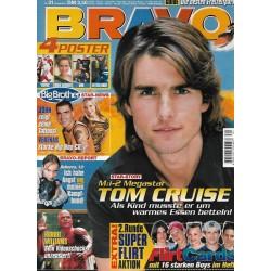 BRAVO Nr.31 / 26 Juli 2000 - Megastar Tom Cruise