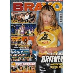BRAVO Nr.40 / 27 September 2000 - Verwirrte Gefühle Britney Spears