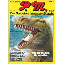 P.M. Ausgabe Oktober 10/1980 - Die Reptilien-Revolution