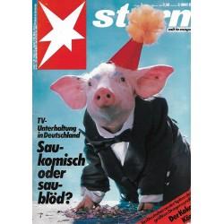 stern Heft Nr.2 / 7 Januar 1988 - Saukomisch oder Sauschlau?