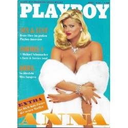 Playboy Nr.4 / April 1994 - Anna Nicole Smith