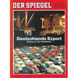 Der Spiegel Nr.27 / 26 Juni 1967 - Deutschlands Export